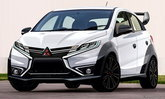 Mitsubishi Mirage 2019 ใหม่ จะใช้พื้นฐานเดียวกับ Nissan Juke