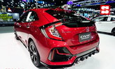 Honda Civic Hatchback RS 2021 ตัวถังสีแดง Ignite Red ใหม่ที่งานมอเตอร์เอ็กซ์โป