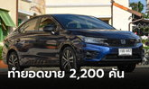 Honda City e:HEV ทำยอดขายสะสมในไทย 2,200 คัน จ่อเปิดตัวรุ่น 5 ประตูในเดือน มิ.ย.นี้