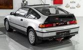 Honda CRX รุ่นปี 1990 คันนี้วิ่งไปแค่ 17 กิโลเมตร แม้แต่น้ำมันเครื่องยังของเดิม!