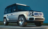 Mercedes-Benz Concept EQG ต้นแบบเอสยูวีในตำนานขับเคลื่อนด้วยไฟฟ้า