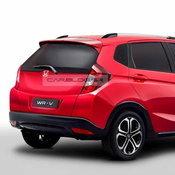 ภาพตัดต่อ Honda WR-V