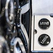 ฝาปิดดุมล้อ MINI อุปกรณ์ตกแต่งแท้ ไม่หมุนตามความเร็วล้อรถ