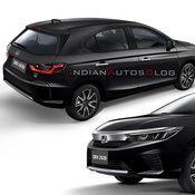 ภาพเรนเดอร์มาแล้ว! รถใหม่ Honda City Hatchback 2020 ที่คาดจะเปิดตัวในไทยปลายปีนี้