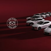 Mazda MX-5 100th Anniversary ฉลองร้อยปีกับรุ่นหลังคาผ้าใบสี Dark Cherry
