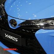 Big Motor Sale 2020 : ชมคันจริง Toyota Yaris Sport Premium ตัวถังฟ้าหลังคาดำ!