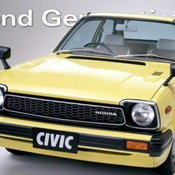 Honda Civic  รุ่นที่ 2