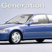 Honda Civic  รุ่นที่ 5