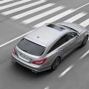 New! Mercedes Benz CLS 63 Shooting  Brake