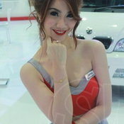 พริตตี้ DFSK Motor Expo 2012