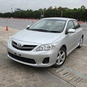 อันดับที่ 2  Toyota Corolla