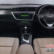 2013 Toyota Corolla 5 doors (auris)