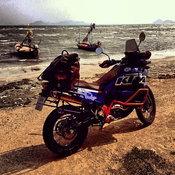 บิ๊กไบค์ KTM 990 ADV ของ อนันดา เอเวอร์ริ่งแฮม
