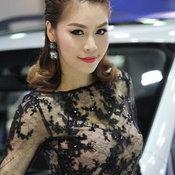 พริตตี้ SUBARU Motor Expo 2013