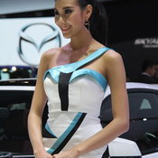 พริตตี้ BMW Motor Expo 2013