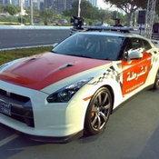 เมืองอาบูดาบี Nissan GT-R