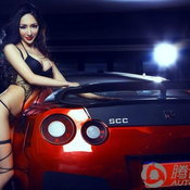 นางแบบ Nissan GTR