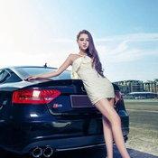 พริตตี้จีน Audi S5