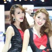 พริตตี้ ISUZU - Motor Show 2014