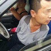 ชายจีนพิการใช้ขาขับรถ