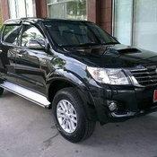Toyota Vigo ที่ถูกขโมยไป