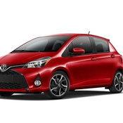 2015 Toyota Yaris U.S. Spec