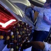 Audi TT เคลือบขนมช็อคโกแลต