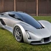 3D Printed Supercar 1