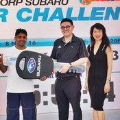 Subaru Car Challenge 2016