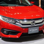 Honda Civic 2017 Rallye Red