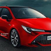 Toyota Corolla Rendered / Credit: Carwp