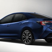 Toyota Corolla Rendered