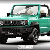 Suzuki Jimny 2018 Rendered / X-Tomi Design