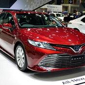 บูธรถ TOYOTA ในงาน Motor Expo 2018