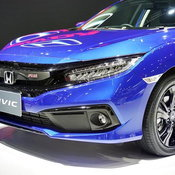 Honda Civic 2019 สีน้ำเงิน Brilliant Sporty
