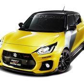 Suzuki Swift Sport Yellow Rev 2019
