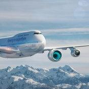 แควนตัสนำเครื่องบินยอดนิยมโบอิ้ง 747 ร่วมทดสอบเครื่องยนต์ Rolls-Royce