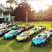 รวมพลคนรัก McLaren 32 คัน โร้ดทริปบุกเหนือแบ่งปันความสุขให้สังคม