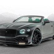 Bentley Continental GT V8 Convertible แต่งใหม่ มาพร้อมเขียวโครเมียมออกไซด์สะดุดตา