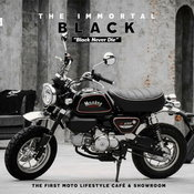 """The Immortal Black Edition"" ขึงขังแบบต้นยุค 80s สไตล์ The Monkey Custom"