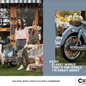 คลาสสิกเจอร่วมสมัย! Honda Super Cub C125 เผยคอนเซ็ปต์ใหม่ Classy Crazy