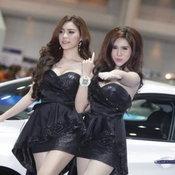 พริตตี้ Hyundai มอเตอร์เอ็กซ์โป 2014