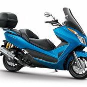 Honda forza Blue H2C