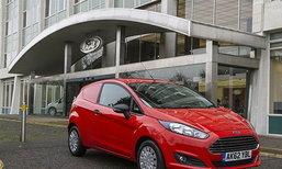 Ford Fiesta Van  เวอร์ชั่นขนของที่ยังประหยัดระดับ 32 กิโลเมตร/ลิตร