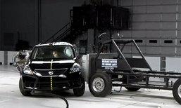 Nissan Almera รับ 5 ดาวทดสอบชนในแดนลุงแซม