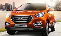 แอบดู  Hyundai Tucson Minorchange  รุ่นใหม่แหล่มจริง ไทยรอลุ้น