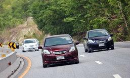 Honda Brio Amaze ตอบโจทย์ความประหยัดทั่วไทย 5,000 กม.