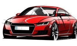 เผยภาพสเก็ตช์ Audi TT โมเดลล่าสุดอย่างเป็นทางการ