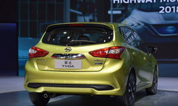 2017 Nissan Tiida ใหม่ เผยตัวเลขประหยัด 18.9 กม./ลิตร