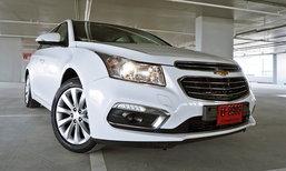 รีวิว 2016 Chevrolet Cruze 1.8 LTZ ไมเนอร์เชนจ์ใหม่ ปรับลุคหรู ขับสนุกขึ้นอีกนิด